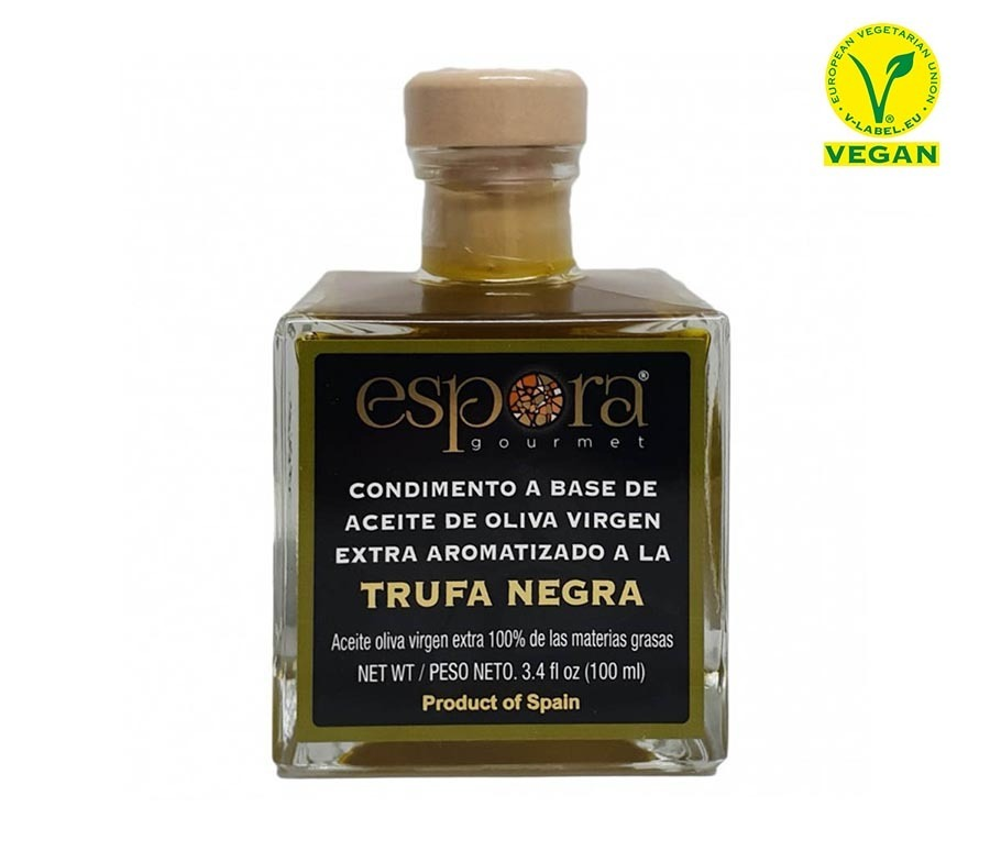 BLACK TRUFFLE FLAVOURED EXTRA VIRGIN OLIVE OIL